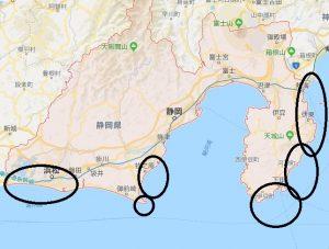 静岡県で海から昇る日の出が見られる「お勧めビュースポット」
