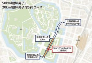 無料観戦できる東京オリンピック競技3種は競歩・マラソン・ロードレース