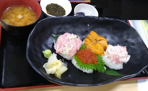 漁師料理よこすか「こぼれ寿司」