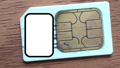 ミニb-casカードの傷で画面エラー